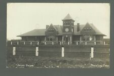 Sterling COLORADO RP c1910 DEPOT Train Station UNION PACIFIC RAILROAD U.P. R.R.