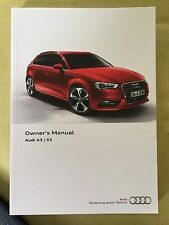 Audi Car Owner & Operator Manuals