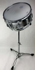 "CB Percussion Snare Drum 14.5"" x 7.25 CB Stand + Humes & Berg Hard Case All *VGC"