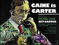 Get Carter FRIDGE MAGNET 6x8 Michael Caine Magnetic Movie Poster Canvas Print
