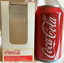 NEW! 40 PIECE COCA-COLA CAN 3D PUZZLE BY INCREDIPUZZLE 2011-12 POP CULTURE