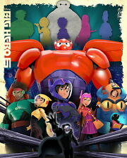 "071 Big Hero 6 - 2014 American Hot Movie Film 14""x18"" Poster"