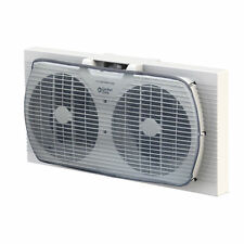 Comfort Zone CZ319WT 2-Speed Twin Window Fan with Manual Reversible Airflow