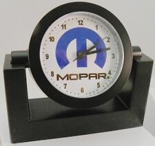 "Desk Clock - ""MOPAR"" - New w/ Battery"
