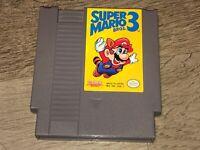 Super Mario Bros. 3 Nintendo Nes Cleaned & Tested Authentic