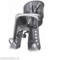Siege vélo avant porte bébé baby Enfant VTT VTC Couleur : Gris 9-15 kg