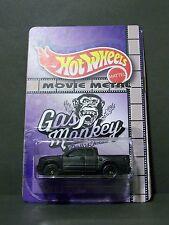 """Custom HotWheels FORD RAPTOR and package of  """"Movie Metal""""  HOT RAT ROD"""