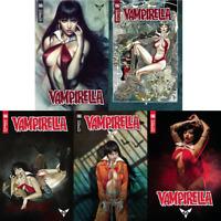 Vampirella #6 A-E Artgerm First Print Gunduz Dalton March Cosplay Dynamite 2019