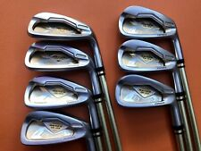 HONMA BERES IS-03 2 STARS IRONS 5-11 (7PC) ARMRQ8 SHAFTS R FLEX GREAT CONDITION