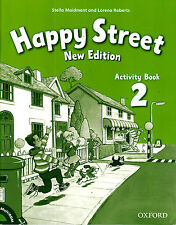 Oxford HAPPY STREET 2 Activity Book /Workbook NEW EDITION with MultiROM @NEW@