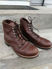 Red Wing Heritage 9 Womens Amber Leather Boots Amazing Condition!