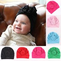 Kids Girls Baby Toddler Turban Knotted Headband Hair Band Accessories Headwear