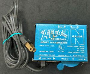 ATLAS Model 2860 N GAUGE TRANSFORMER POWERPACK,  U.S.A. VINTAGE