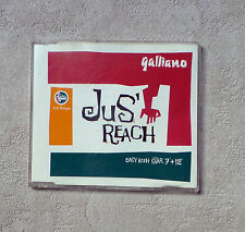 "CD AUDIO MUSIQUE / GALLIANO ""JUS' REACH"" 4 TRACKS 1991 CD MAXI-SINGLE 866 045-2"