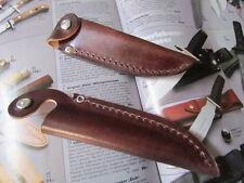 MESSERSCHEIDE Farbe dbraun für Messer mit 10 cm KLINGE Msch ohne Gürtelschlaufe