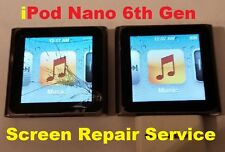 Apple Ipod Nano 6th Generation Damaged Broken Screen Repair Replacement Service