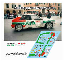 DECALS 1//43 LANCIA 037 BIASION RALLY YPRES 1983