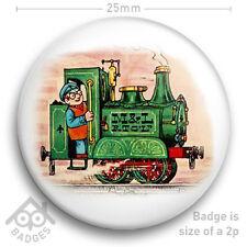 """IVOR THE ENGINE -  RETRO TV Badge BBC Children's TV -  25mm 1"""" Badge"""