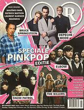 MAGAZINE OOR 2009 nr. 05 - BRUCE SPRINGSTEEN/DEPECHE MODE/PINKPOP SPECIAL/ELBOW