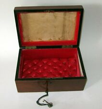 ANCIENNE BOITE A BIJOUX COUTURE antique jewellery box