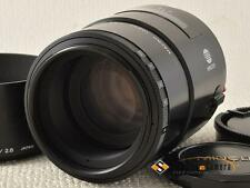 MINOLTA AF 100mm F2.8 MACRO for SONY A [AS IS] from Japan (9503)