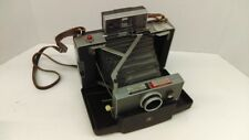 Vintage 1963-66 Polaroid 100 Land Instant Folding Camera With Manual
