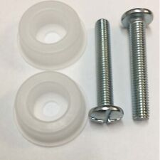 2 X Headboard Bolts Screws With Plastic Washers 4 Divan Beds