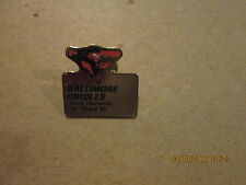 MLB Baltimore Orioles Vintage WORLD CHAMPIONS 66 70 and 83 Baseball Lapel Pin