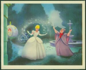 1950's Cinderella, Colgate-Palmolive Card No 8, Cinderella and the Good Fairy