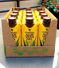 Forever Living beber Gel de Aloe Vera 99.7% natural sabor 330ml (paquete de 12)