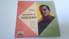 "GIUSEPPE DI STEFANO ""O SOLE MIO"" EP 7"" SPANISH SINGLE VG/VG MBE/MBE 1958"