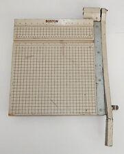 "Boston 2615 Paper Trimmer Cutter Guillotine Style 15"" Square"