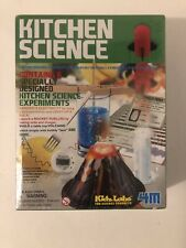 Kitchen Science Kit Educational Toy For Children W/ 6 Fun Experiments By 4M