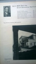 1931 1 Haus Grimme Hamburg Wellingsbüttel ....ein Blatt