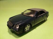 SCHUCO  1:43 MERCEDES BENZ CLK CABRIOLET - GREY ROOF - EXTREMELY RARE MODEL
