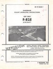 F-82E Twin Mustang Flight Operating Instructions P-51 Mustang Flight Manual (CD)