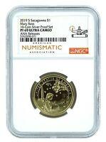2019 S Sacagawea Dollar NGC PF69 Ultra Cameo - Chicago ANA Releases