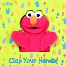 Clap Your Hands (sesame Street) With Puppet by Joe Ewers 9780375822261