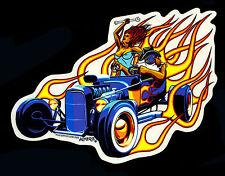 Almera Sticker Decal Pinup Girl Kustom Kulture Hot Rod Poster Pop