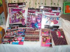 MONSTER HIGH Huge MEGA PARTY Lot Invitations Loot Bags Balloons Mix Value Pack