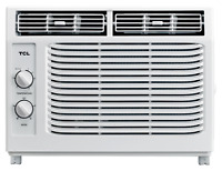 TCL 5,000 BTU  2-Speed Window Air Conditioner w/ Mechanical Controls