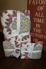 NWT Pottery Barn Adina KING CAL KING Quilt PLUS 2 STD Shams Boho MSRP $350