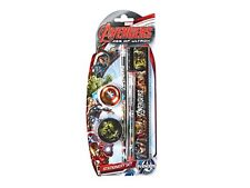 MARVEL AVENGERS AGE OF ULTRON STATIONERY SET 5 PIECE -  RUBBER , PEN, PENCIL