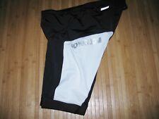 PEARL IZUMI ELITE Shorts 2XL XXL Nylon Poly Spandex Tri TRIATHLON Black White