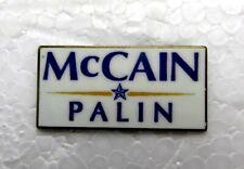 McCain Palin Presidential Election Hat / Lapel Pin