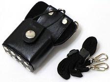 Hard PU Leather Holster For Handheld Radio MOTOROLA GP344 BAOFENG QUANSHENG TYT