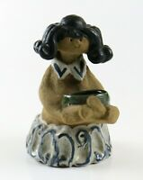 Playful Vintage Earthenware Poppet Planter Collette, Metlox California Pottery