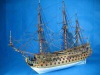 Classic DIY Model Ship Assemble Kits Invincible Armada The San Felipe Warship