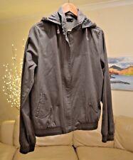 AIRWALK Jacket Coat Grey Green Hooded lightweight Women's Sz.12 UK Medium