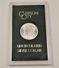 US 1883 CC MORGAN SILVER DOLLAR GSA UNC Carson City w Box and COA